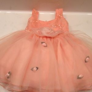 Other - Flower Babydoll Tutu Dress - Baby